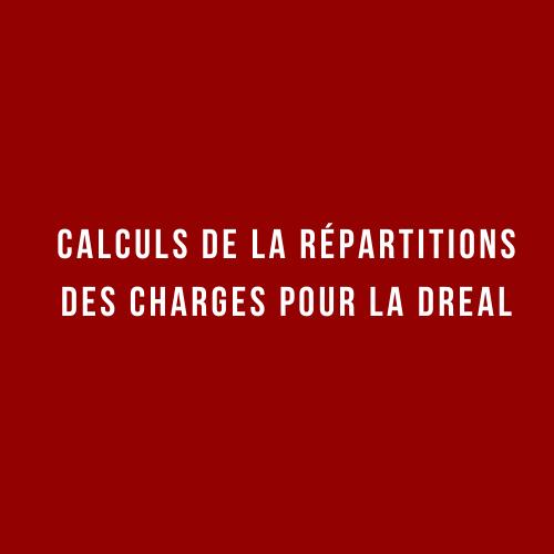 Calcul répartition des charges DREAL