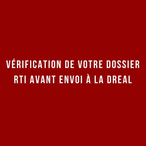 Vérification dossier DREAL